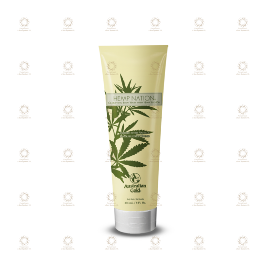 Hemp Nation Vanilla Pineapple Body Wash 235 ml