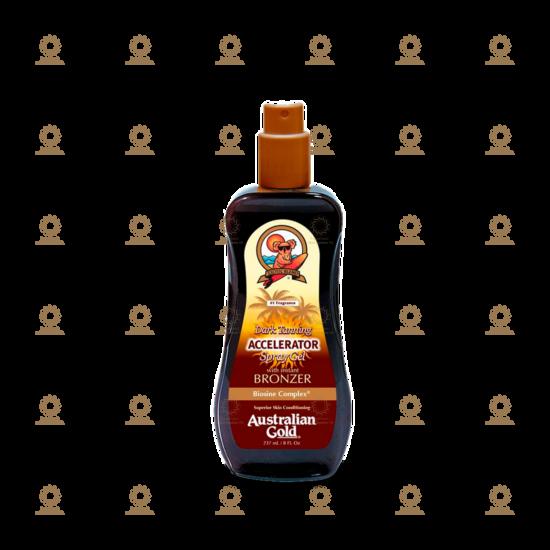 Dark Tanning Accelerator Spray Gel with Instant Bronzer 237 ml