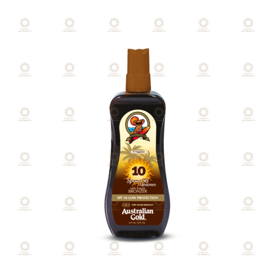 SPF 10 Spray Gel with Bronzer 237 ml