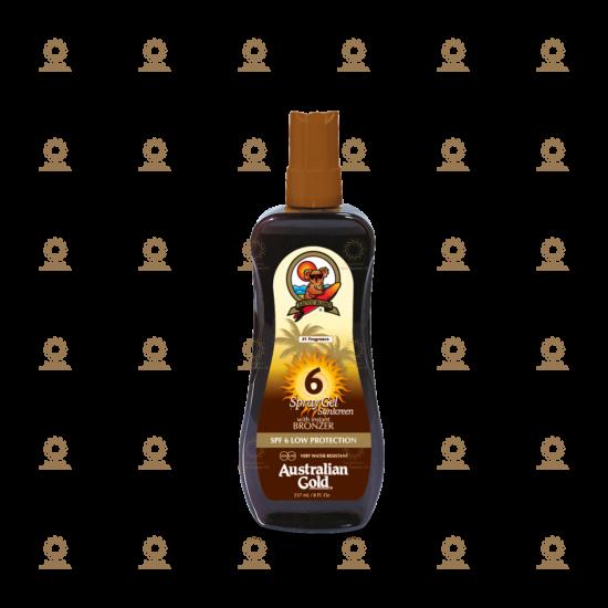SPF 6 Spray Gel with Bronzer 237 ml