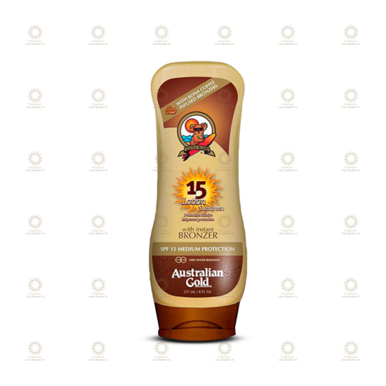 SPF 15 Lotion Sunscreen with Bronzer 237 ml