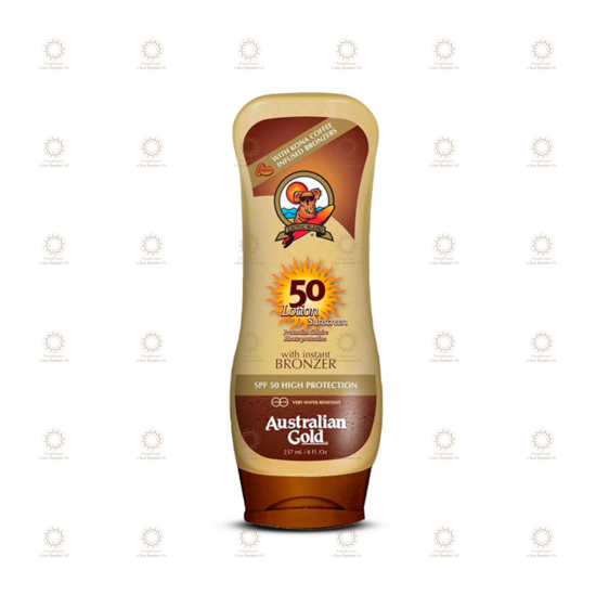 SPF 50 Lotion Sunscreen with Bronzer 237 ml