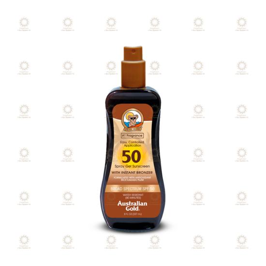 SPF 50 Spray Gel with Bronzer 237 ml